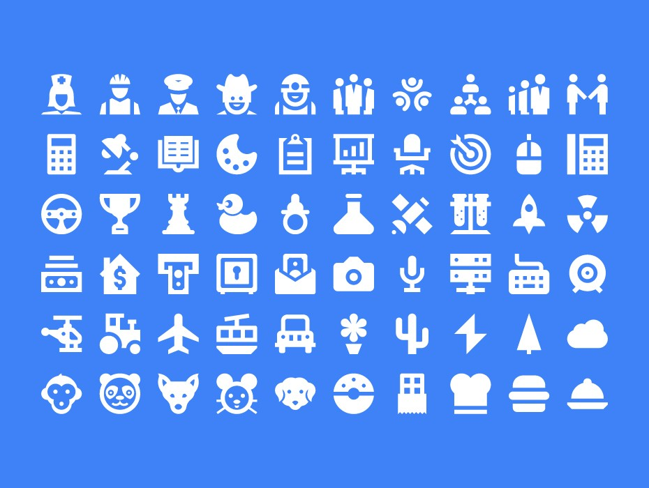 Free Material Icons Design