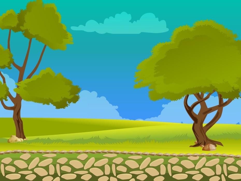 Free Landscape Game Background