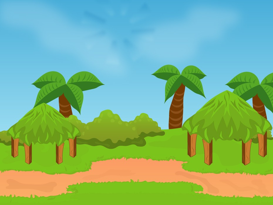 Pine Trees Game Background