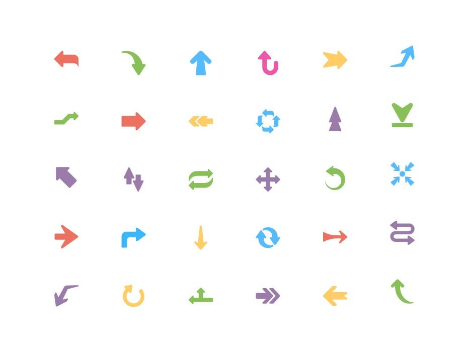 Free Arrow Icons