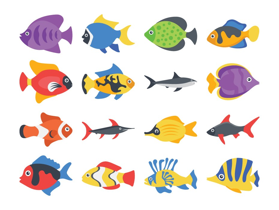 Fishes Icons