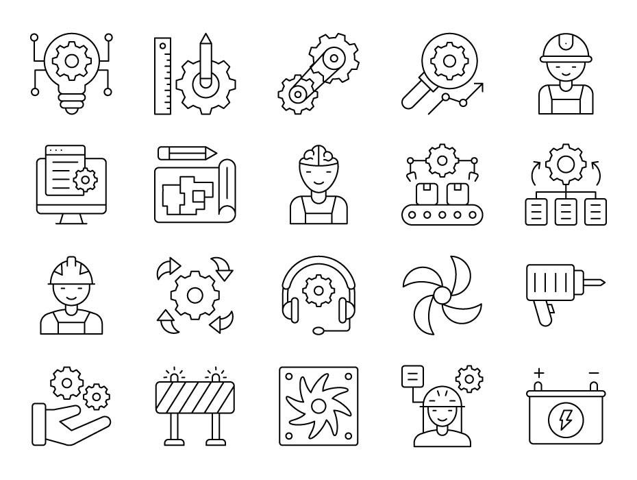 Engineering Icons Pack