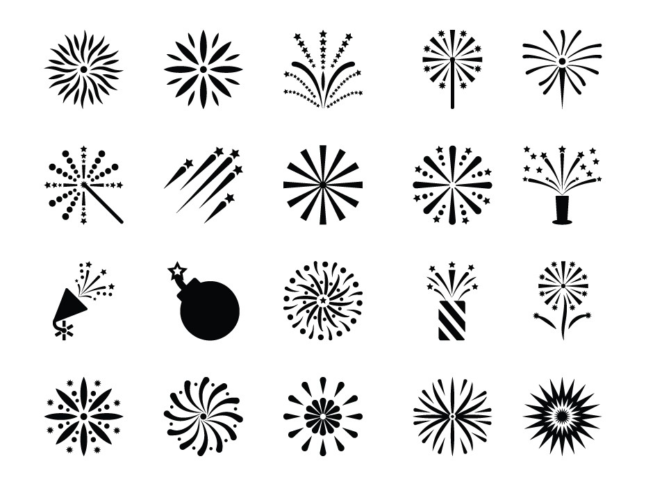 Fireworks Icons Free