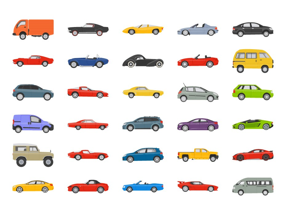 Free Vehicle Vector Icons