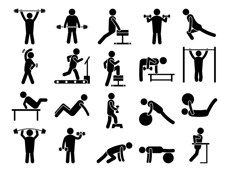 Gym Workout Icons