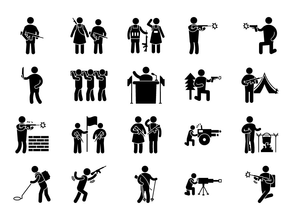 Military Pictograms