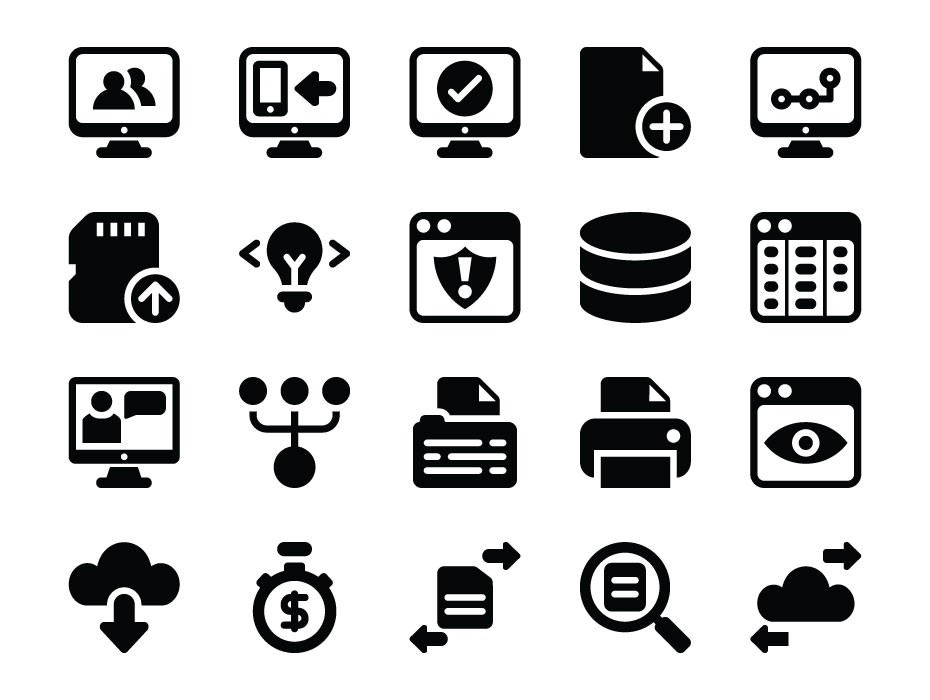 Themes Can Be Designed With No Prior Software Development: Software Development Icons