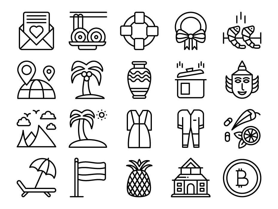 Thailand Symbols