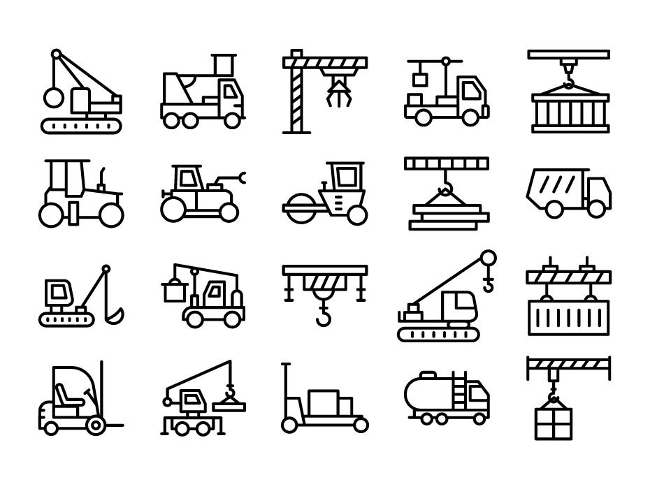 Crane Icon Free