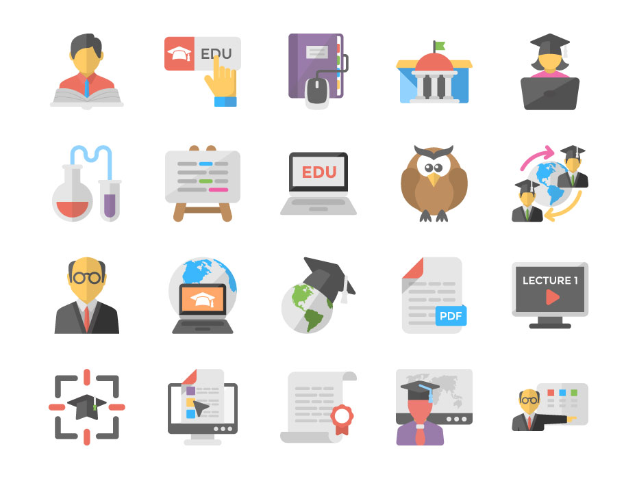 E-Learning Vector Free