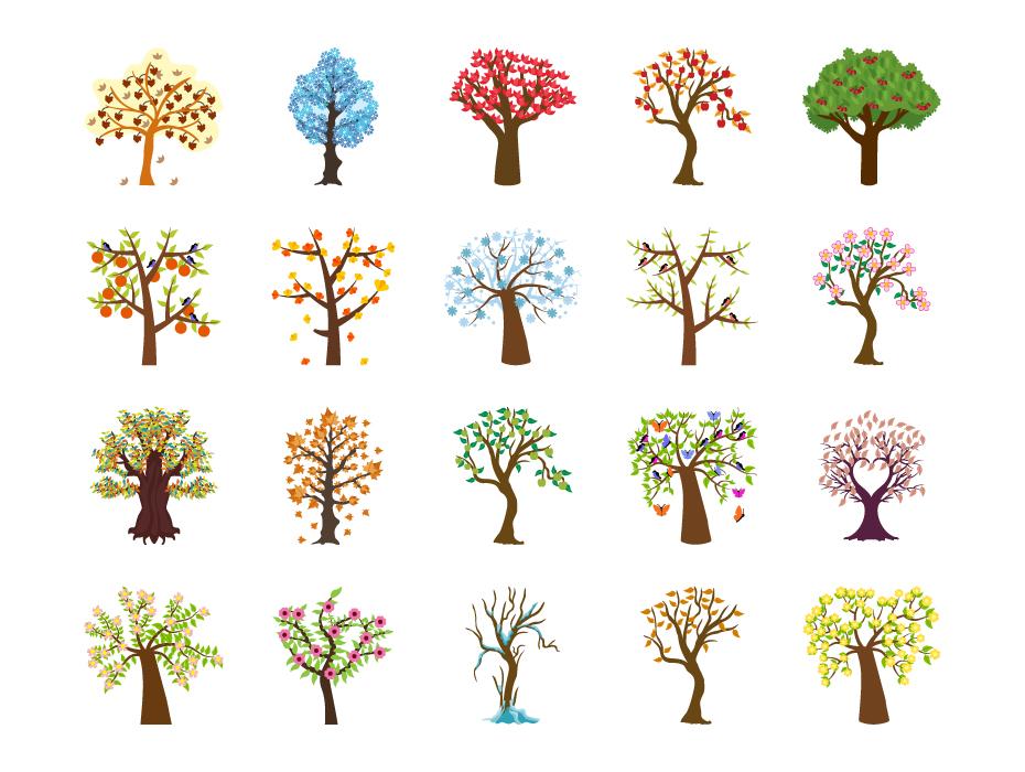 Four Seasons Tree Pack