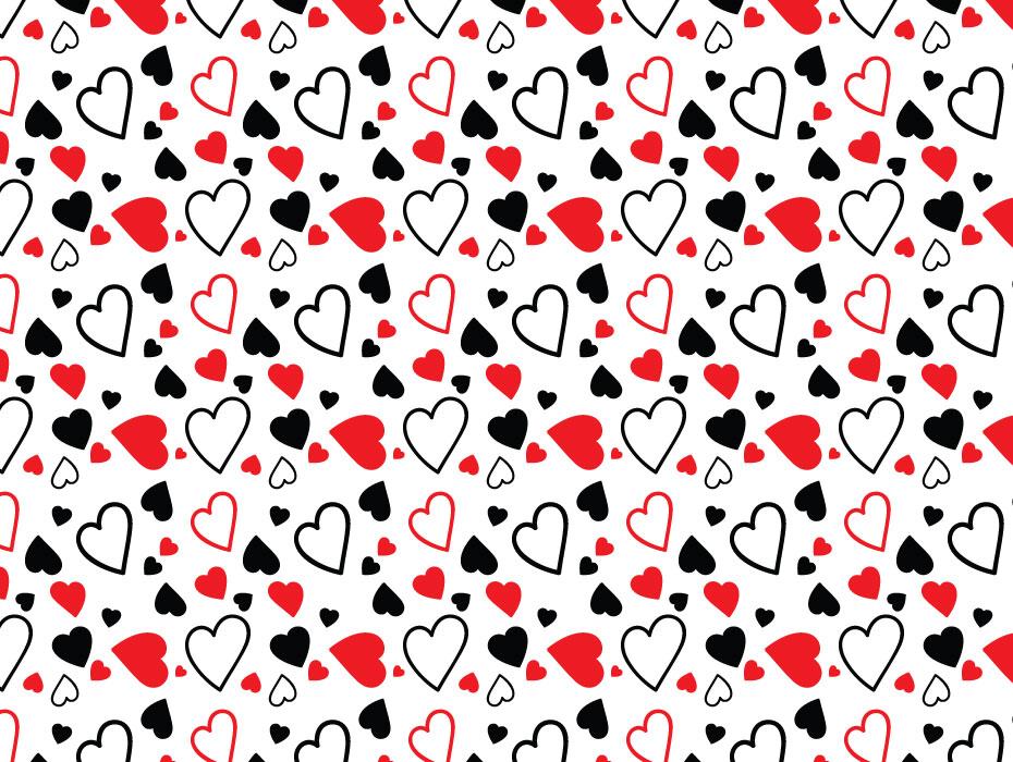 Hearts Pattern Design
