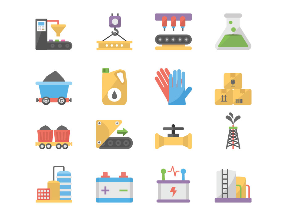 Industrial Icons Pack