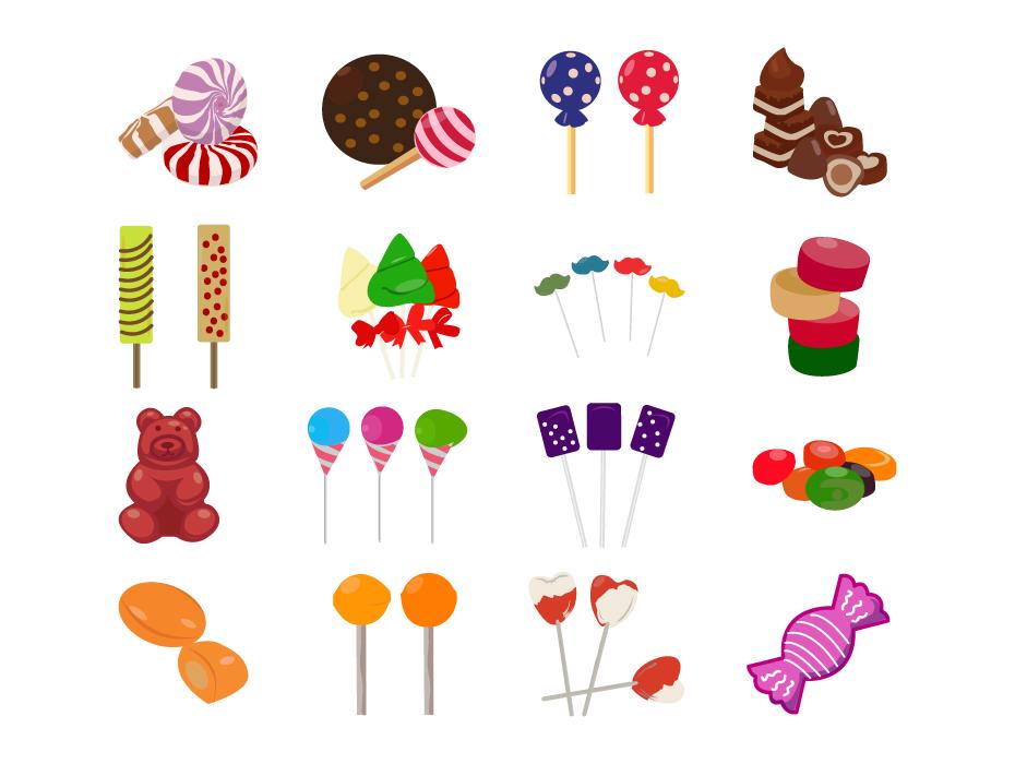 Lollipop Icons Pack