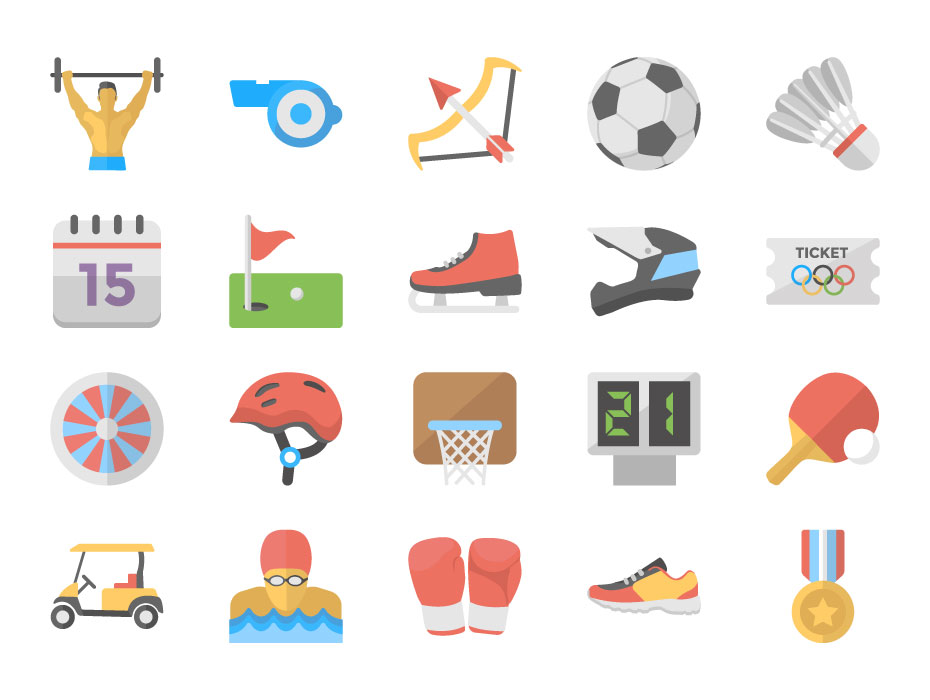 Olympic Game Icons