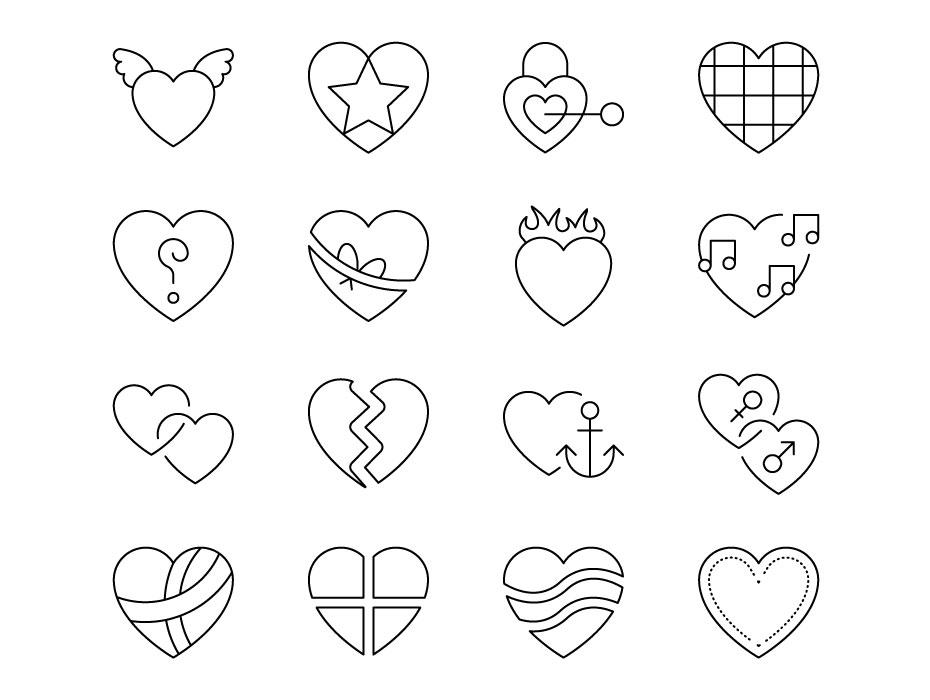 Broken Heart Icons Free