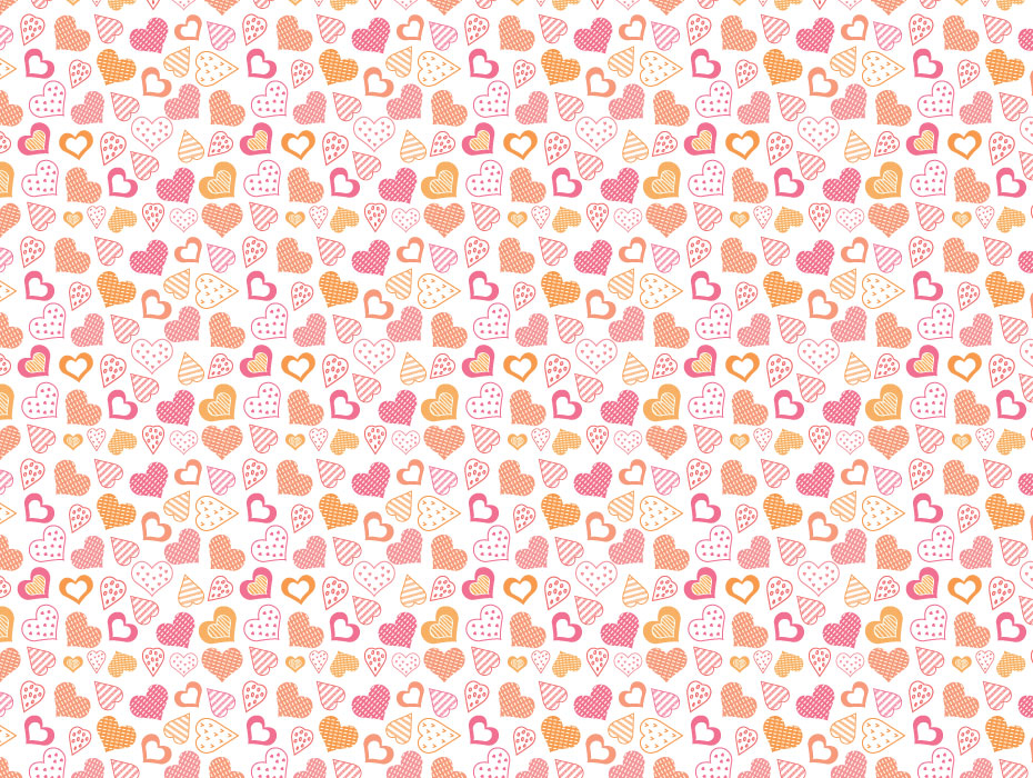 Cute Hearts Pattern
