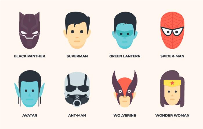 Movie Characters Avatars