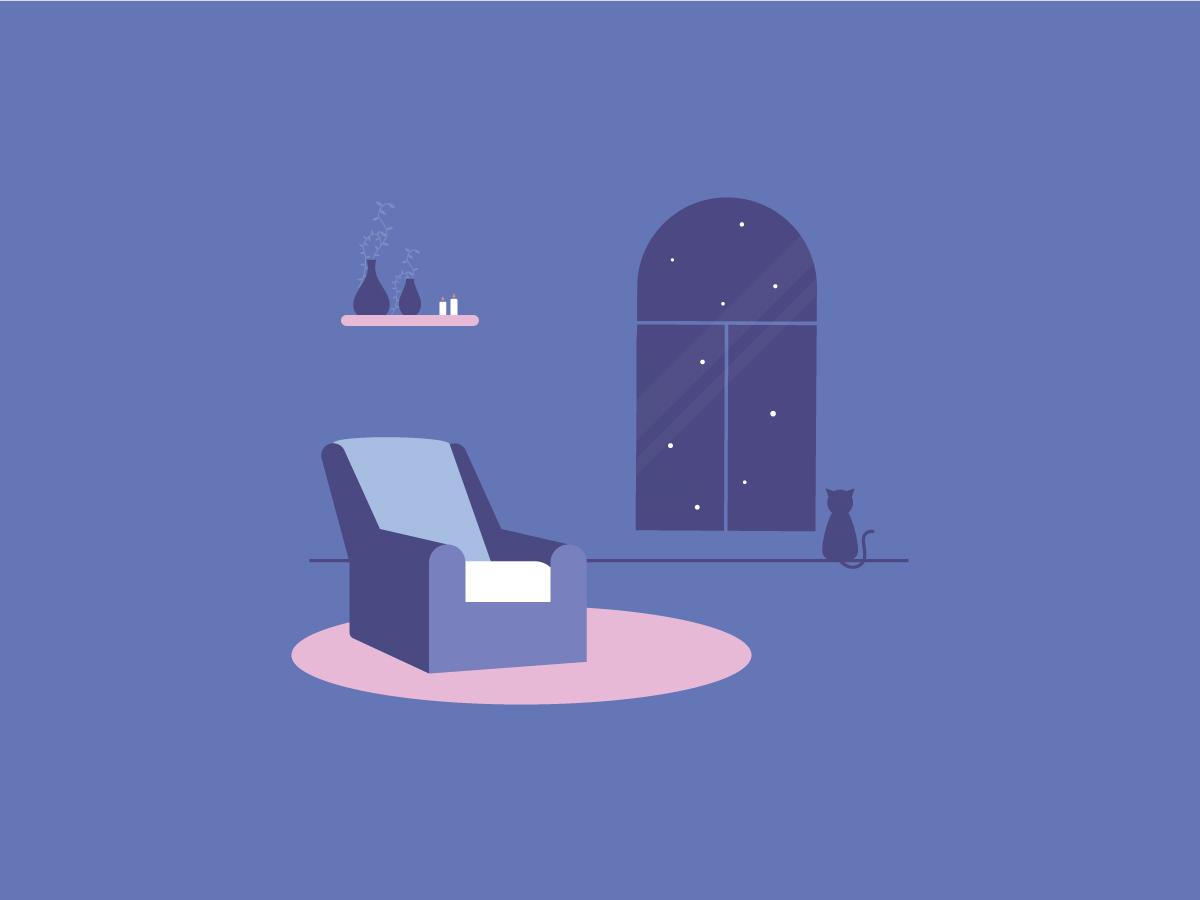 Christmas Night Free Vector Graphic