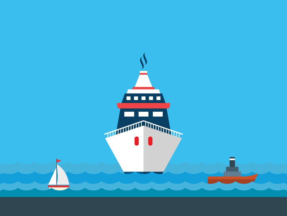 Free Cruise Ship Vector