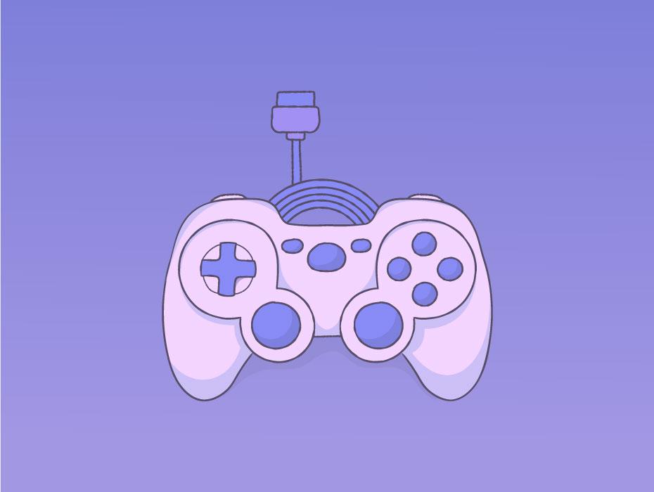 Free Game Controller Vector
