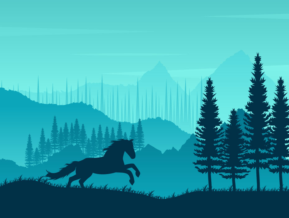 Hiking and Adventure Vector