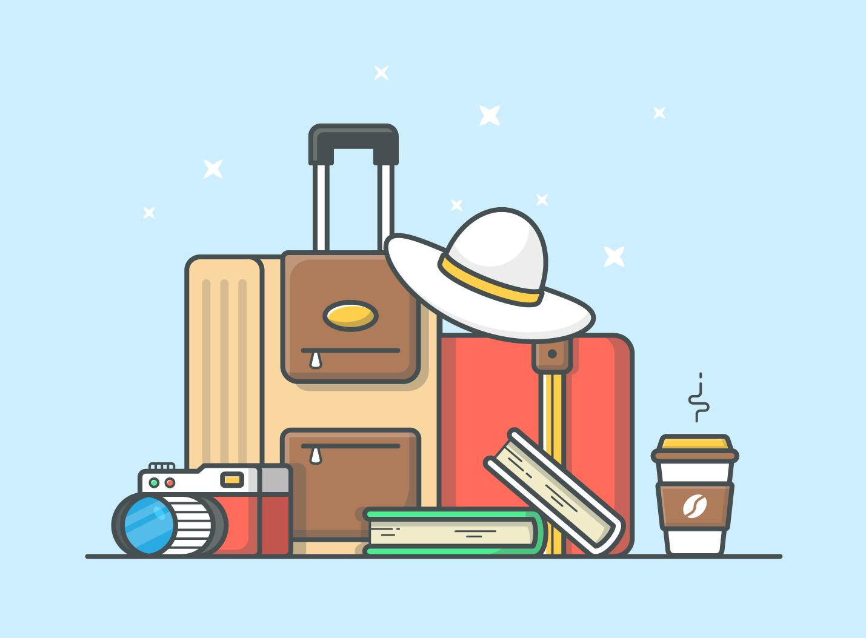Travelling Illustration Download