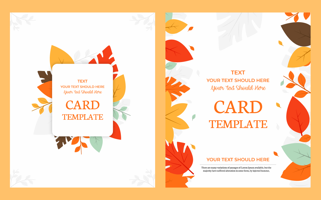 Wedding Card Template Download