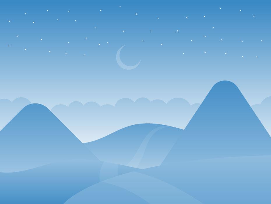 Dreamy Illustration Landscape