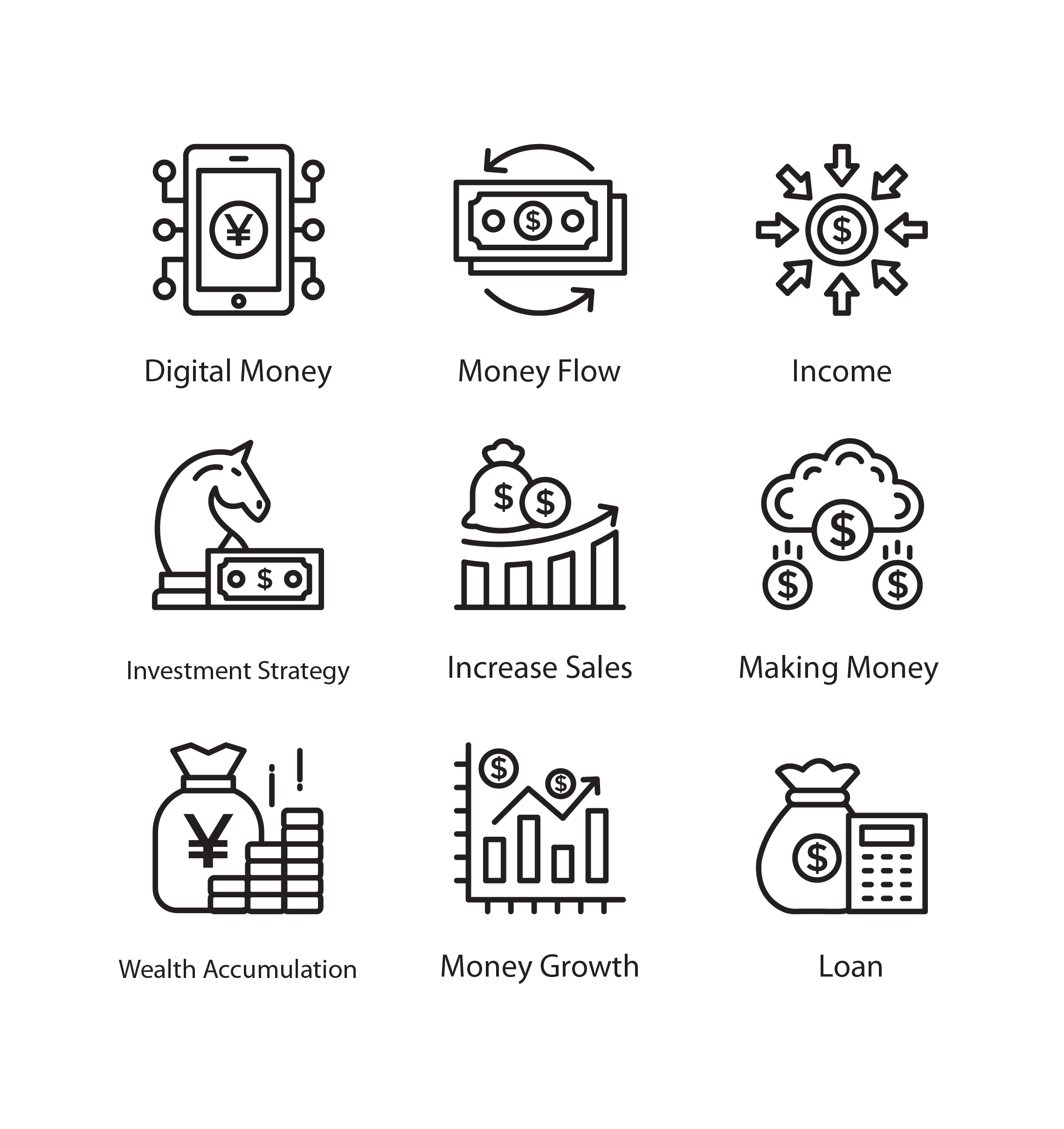 Cashflow Free Icons for Download