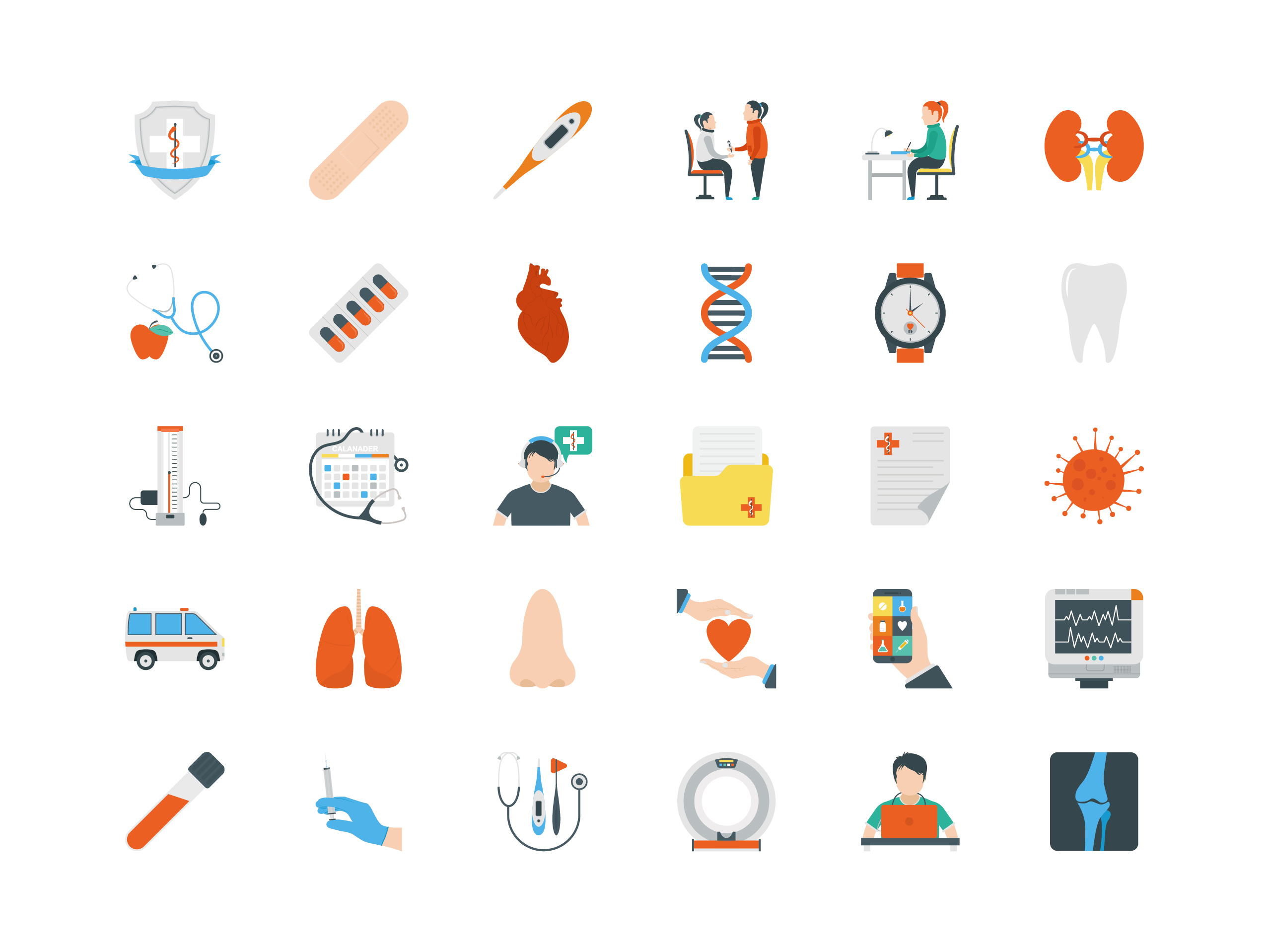 Free 25 Medical and Healthcare Vectors