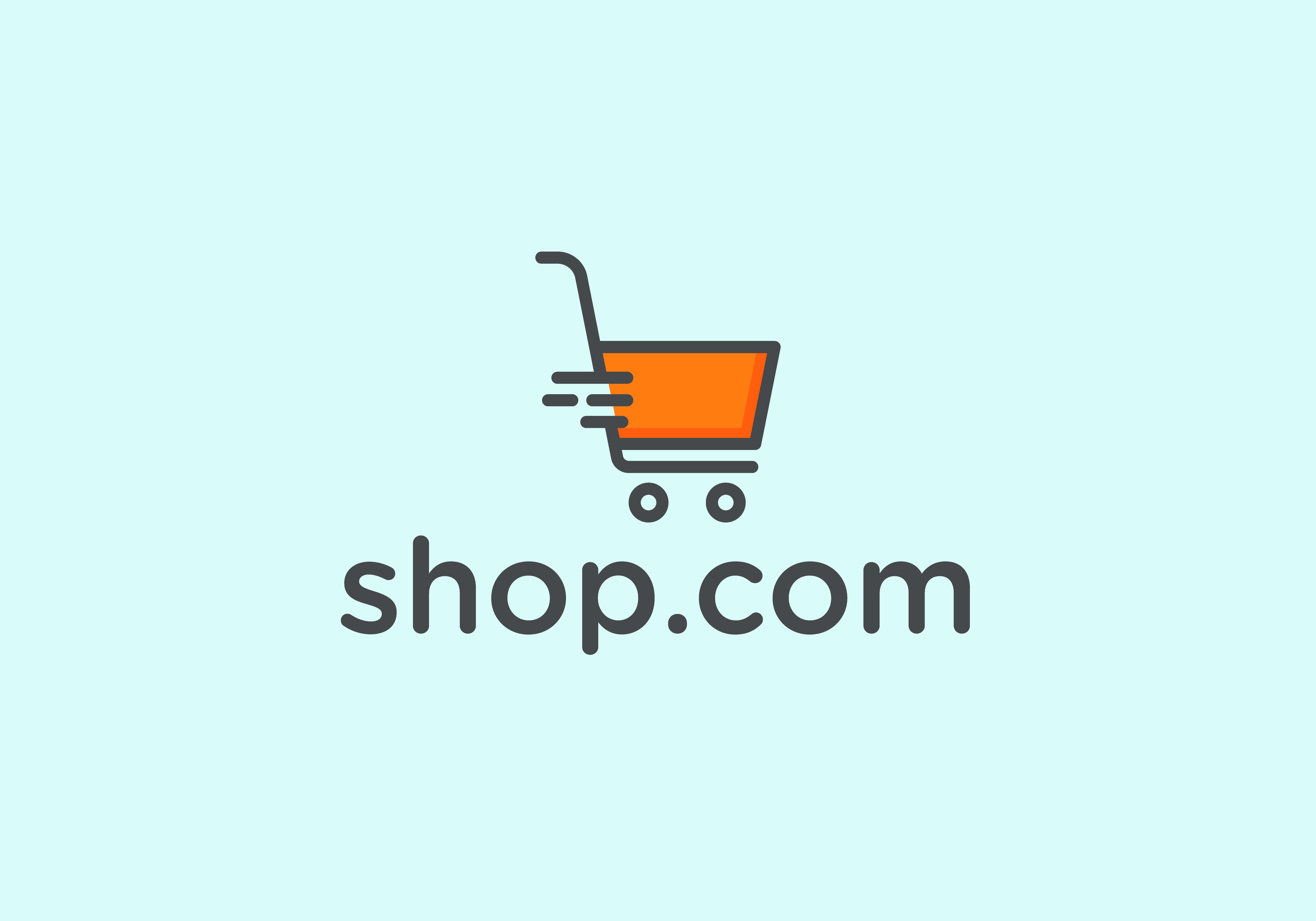 E Shopping Vector