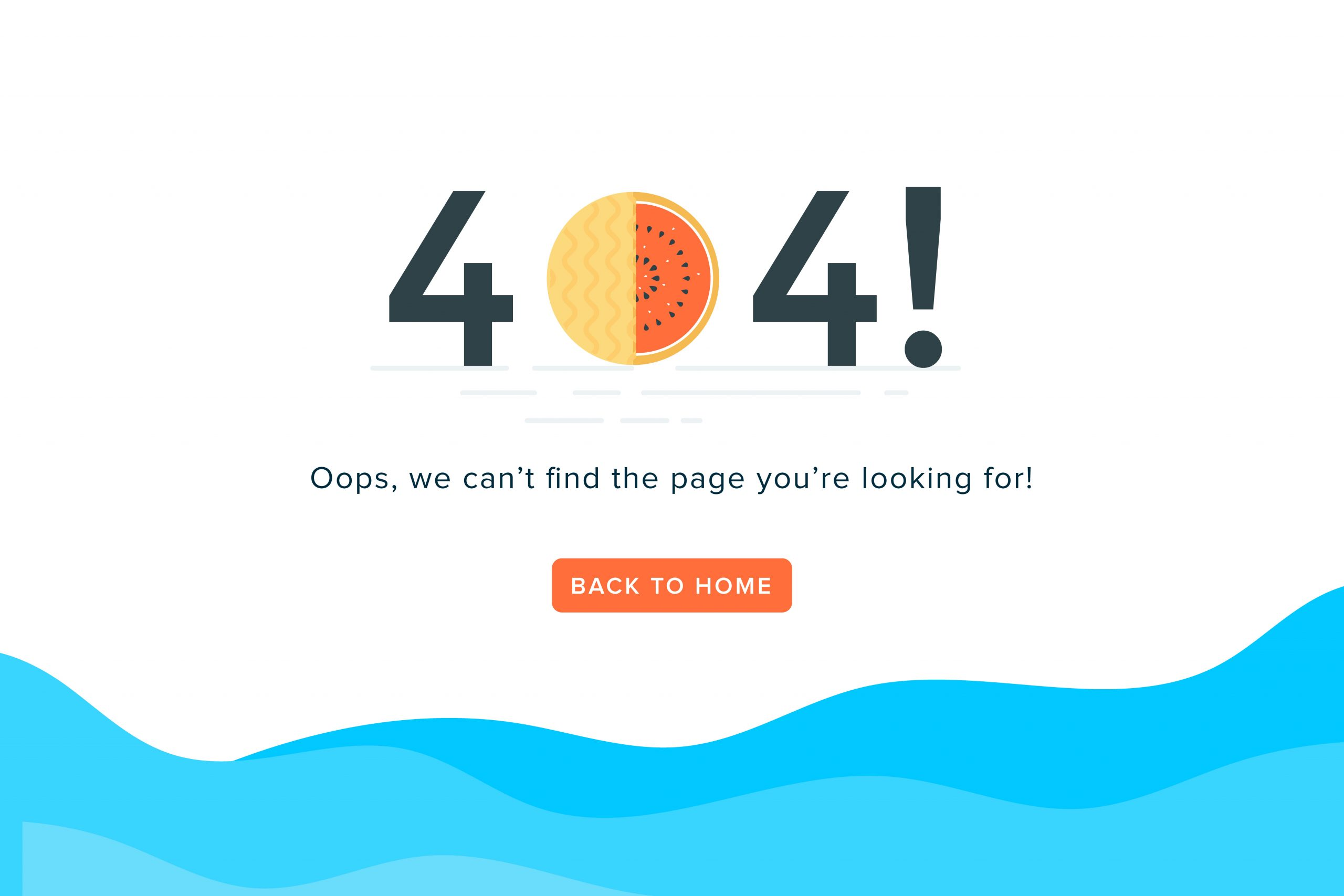 Free 404 Error Page Template