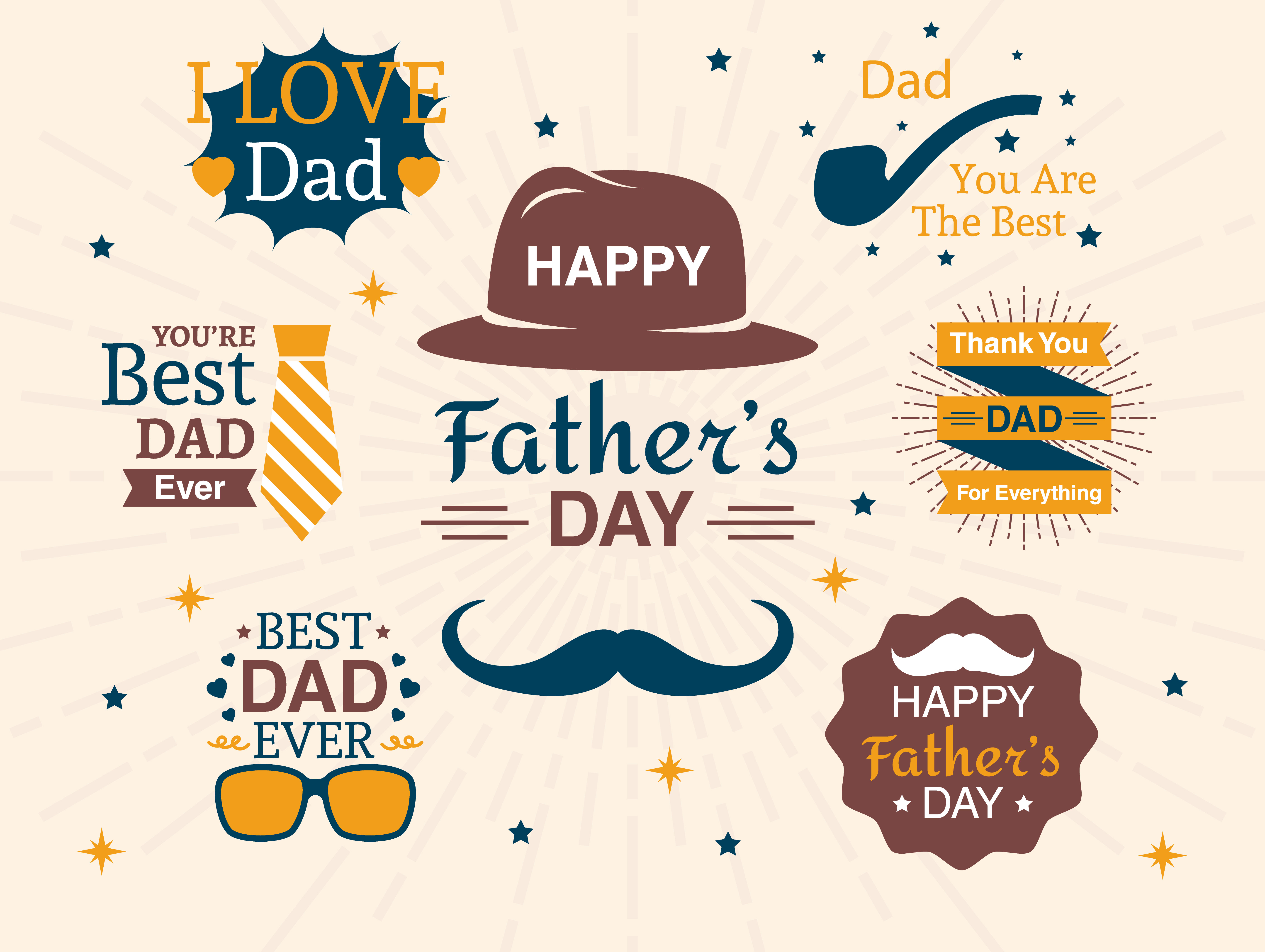 Father's Day Logos