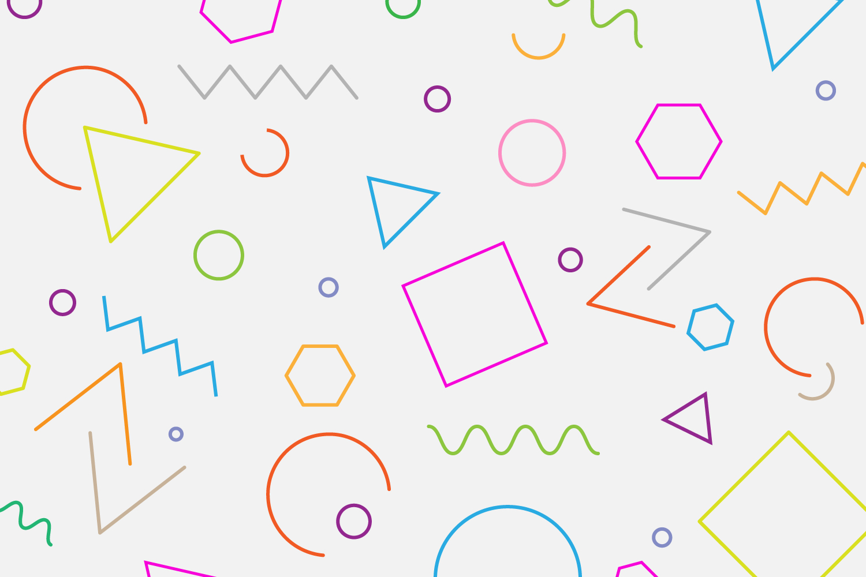 Free Geometric Background Vector
