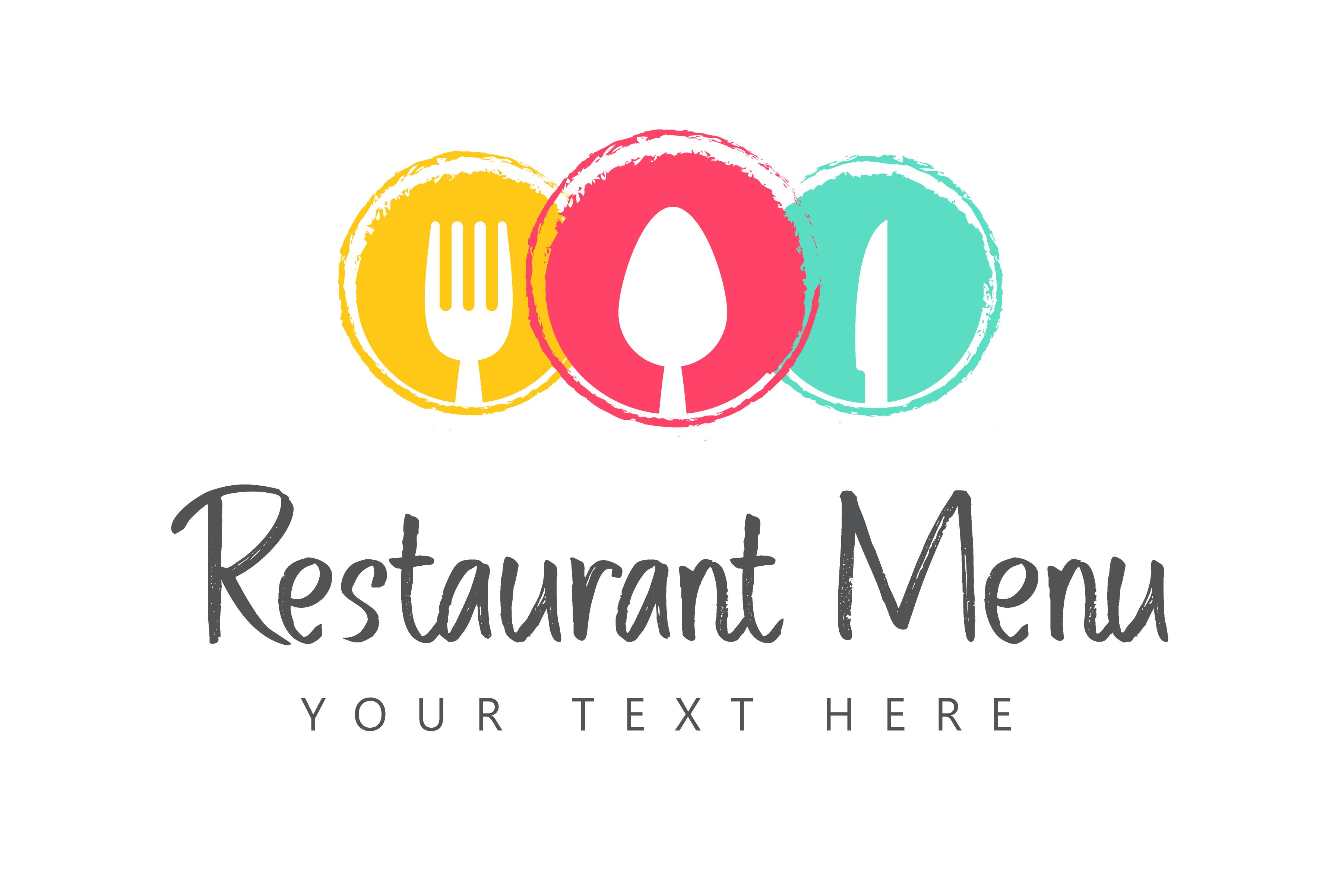 Restaurant Menu Illustration Vector