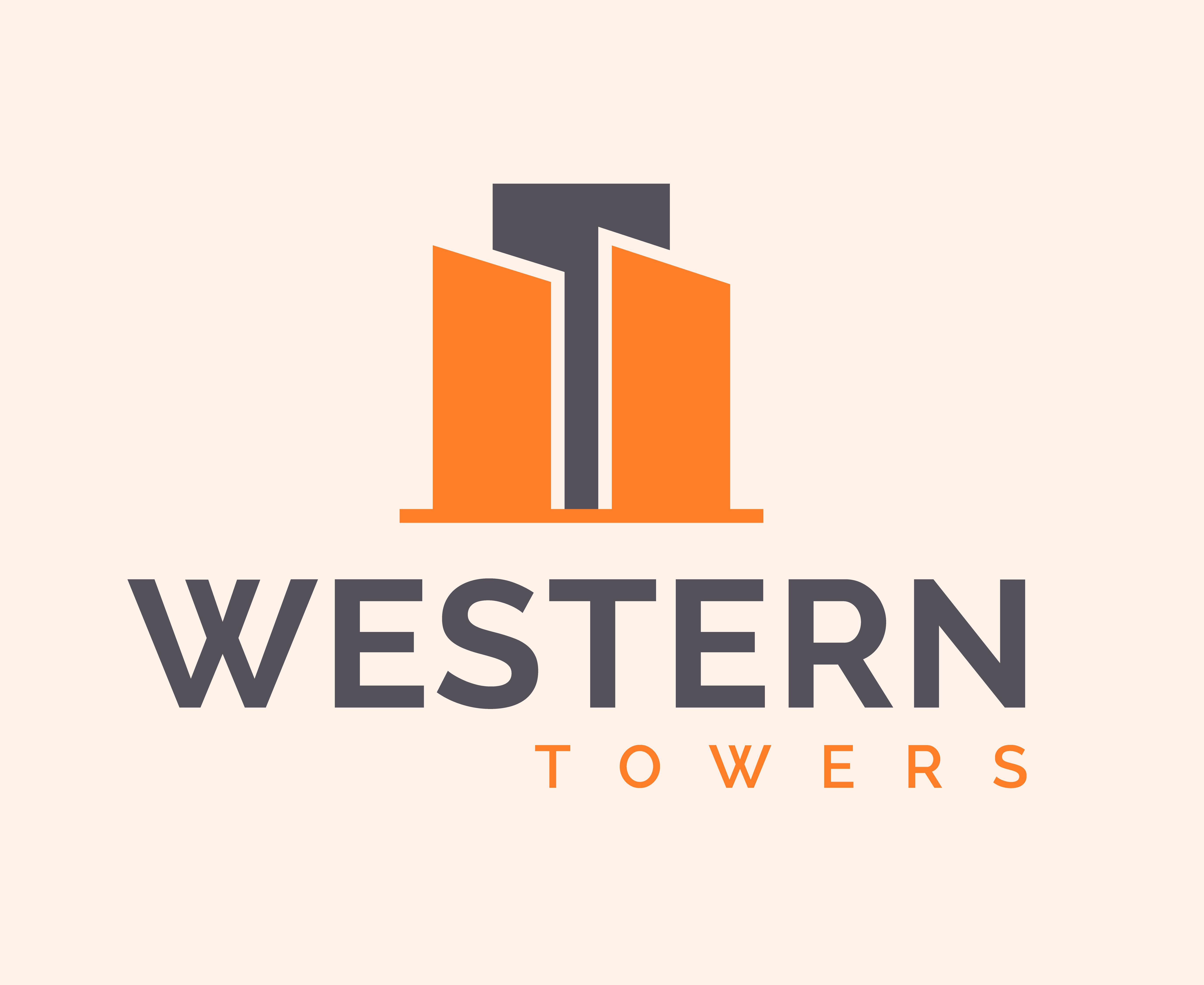 Western Towers Vector