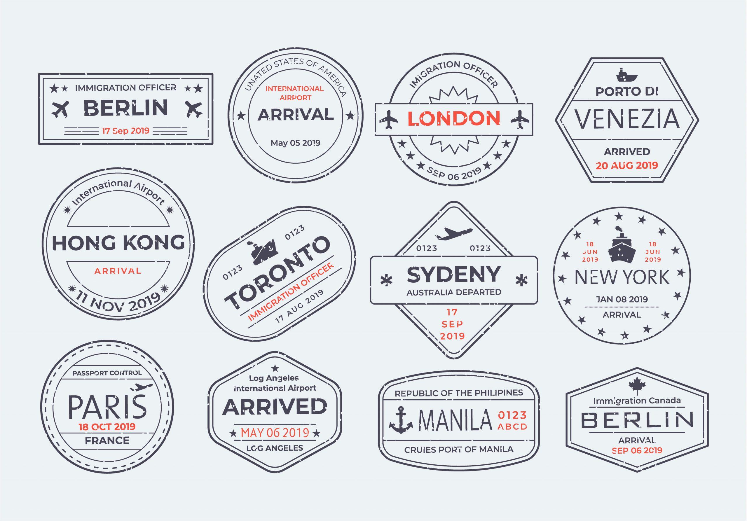 Postage Stamp Vectors
