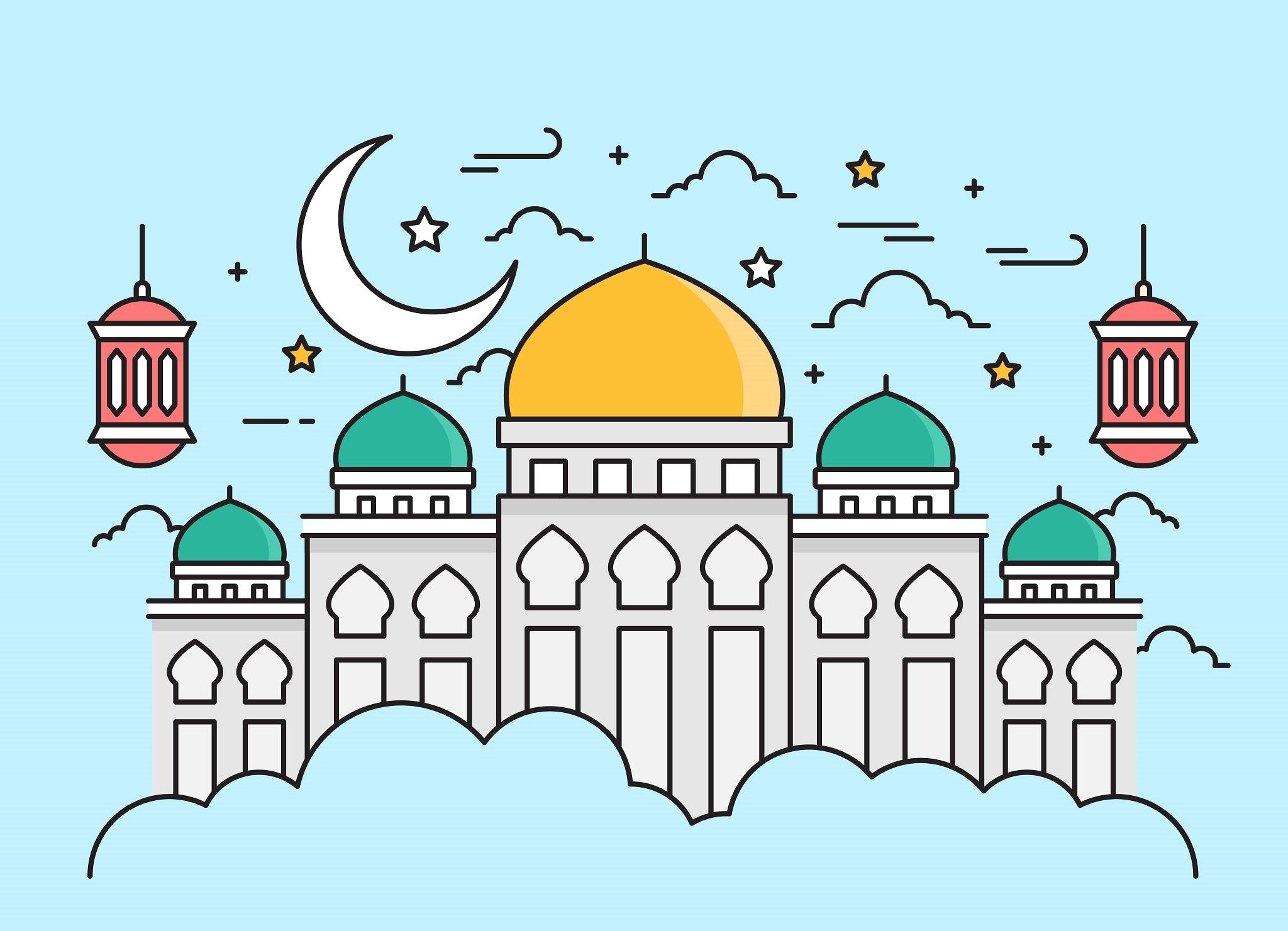 Free Ramadan Vector