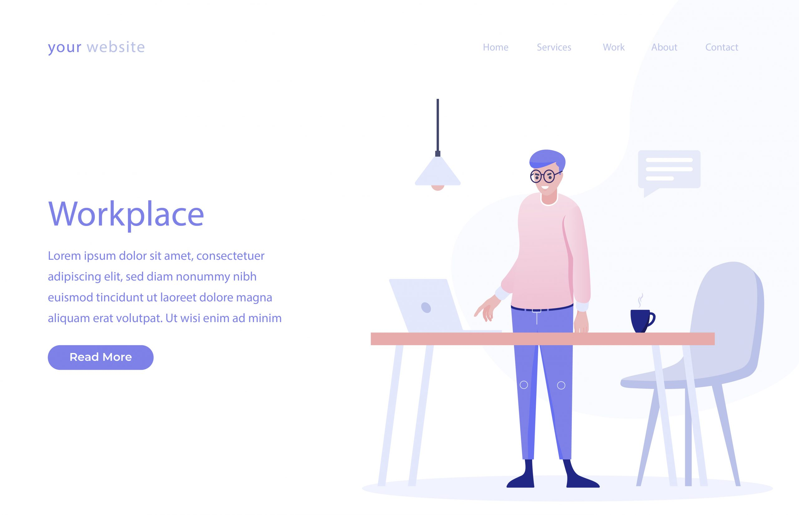 Free Workplace Vector