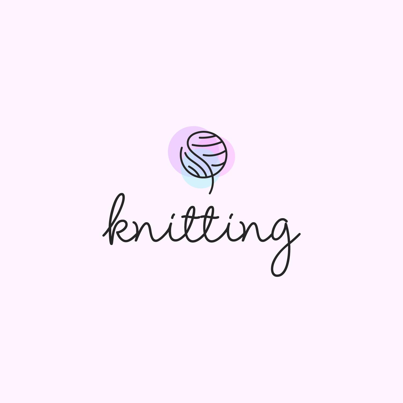 Free Knitting Logo Design