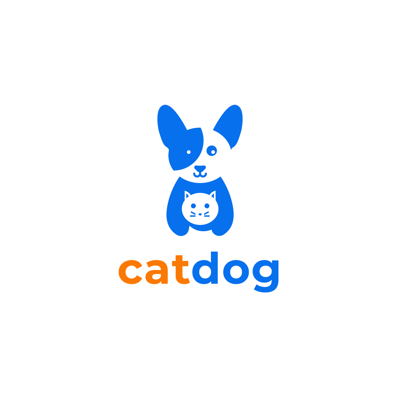 Dog Cat Logo Free Vector Art