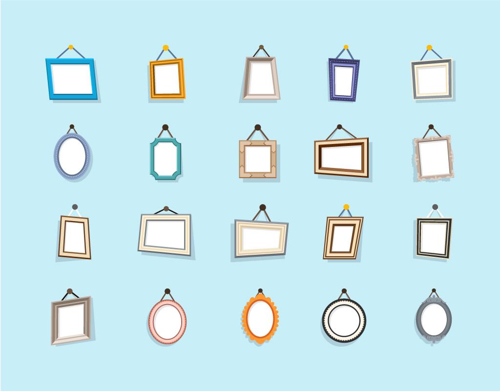 Photo Frame Free Vector Art