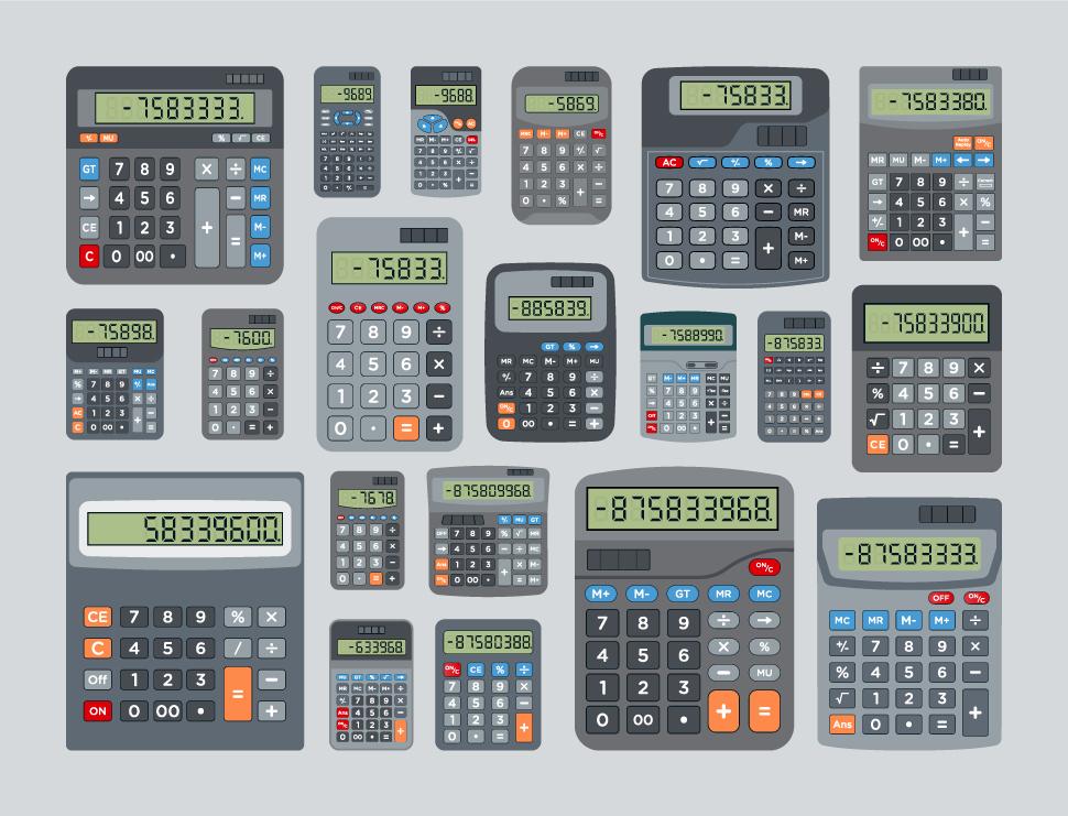 Calculator Free Vector Download