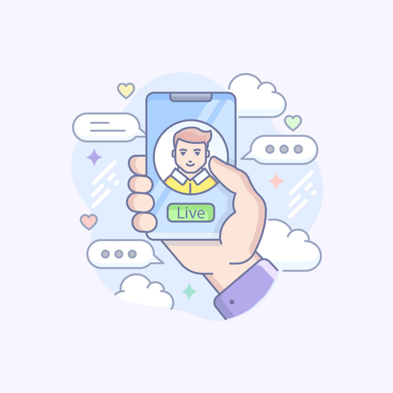 Video Chat Free Vector Art