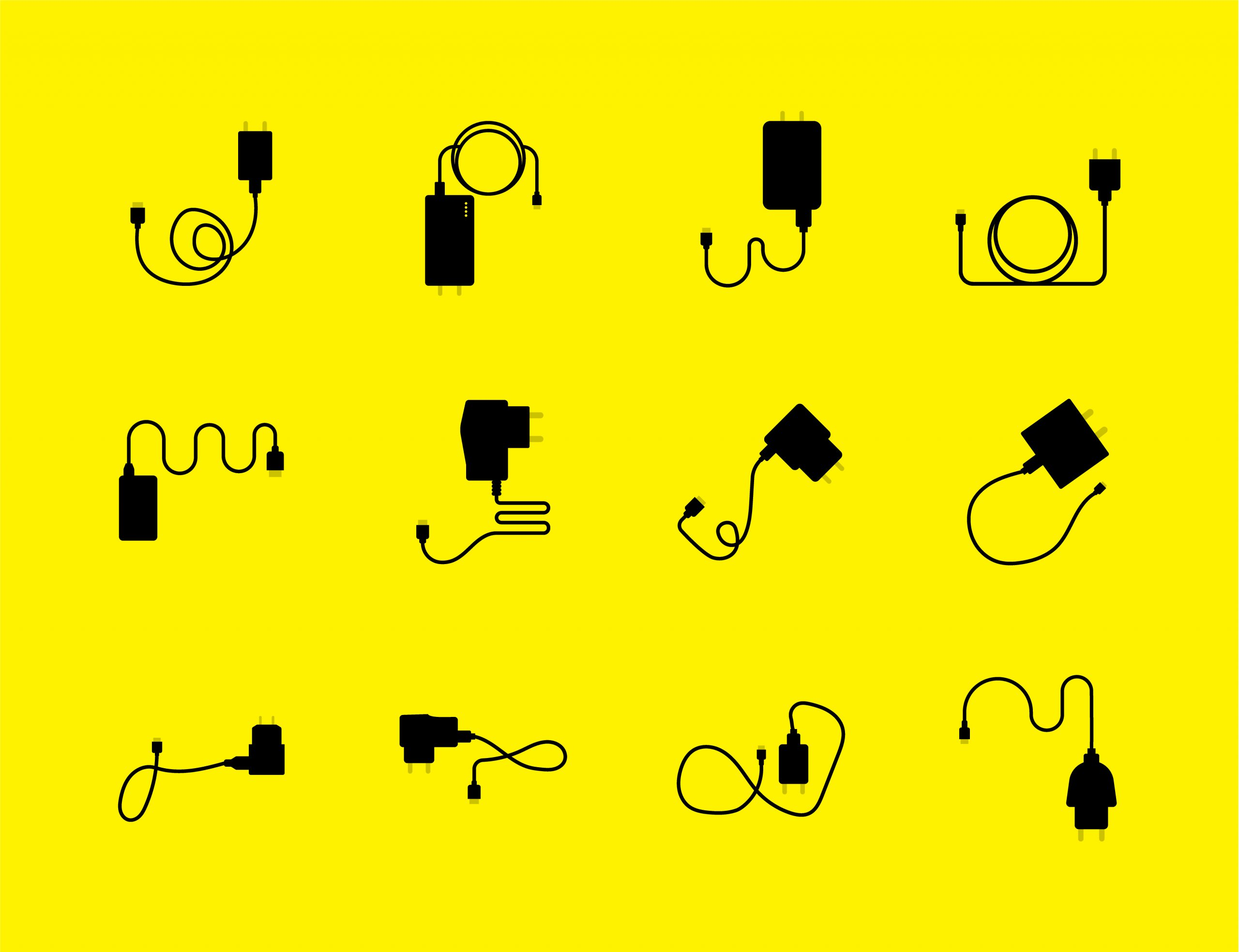 Phone Charger Icons Free Download