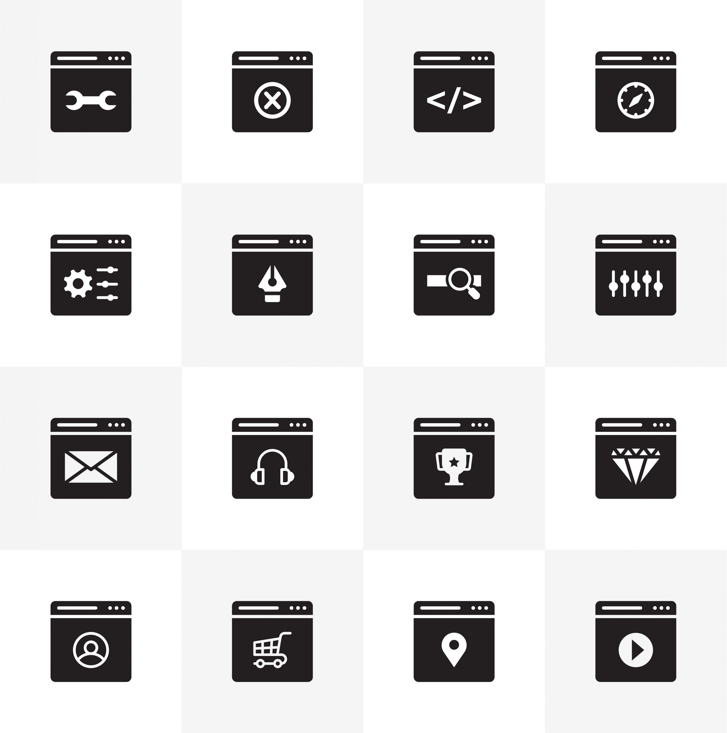 Download Free Web Interface Icons