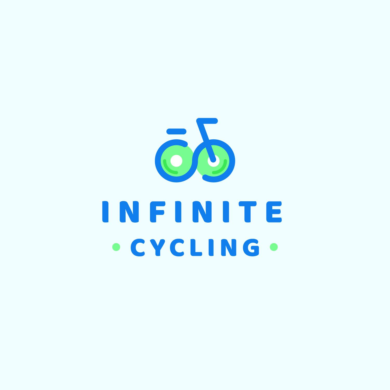 Infinite Cycling Logo Art