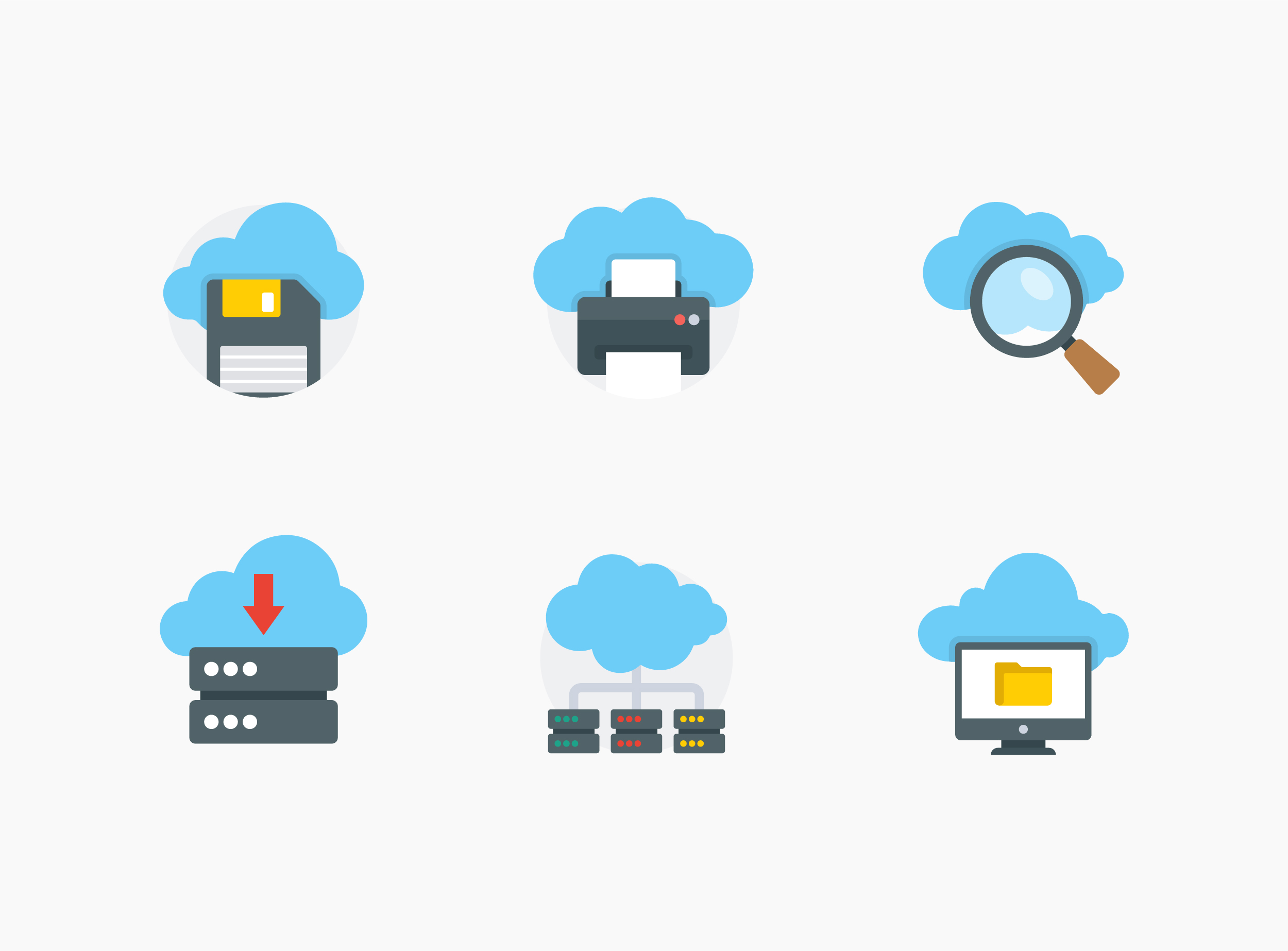 Download Cloud Computing Icons