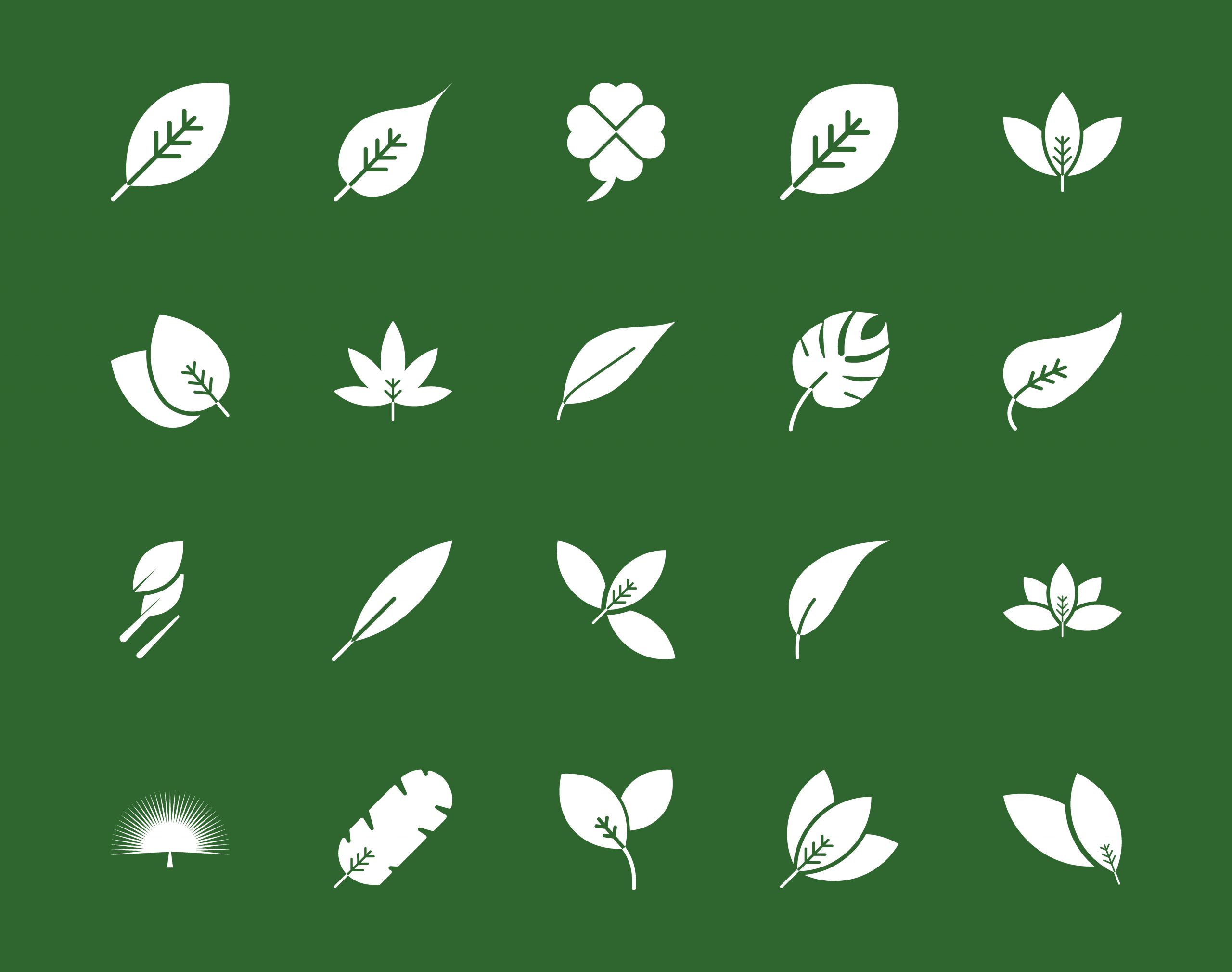 Leaf Icons Free Download